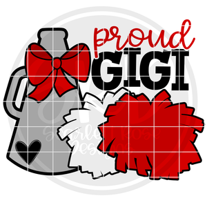 Cheerleading Gear - Proud Gigi SVG