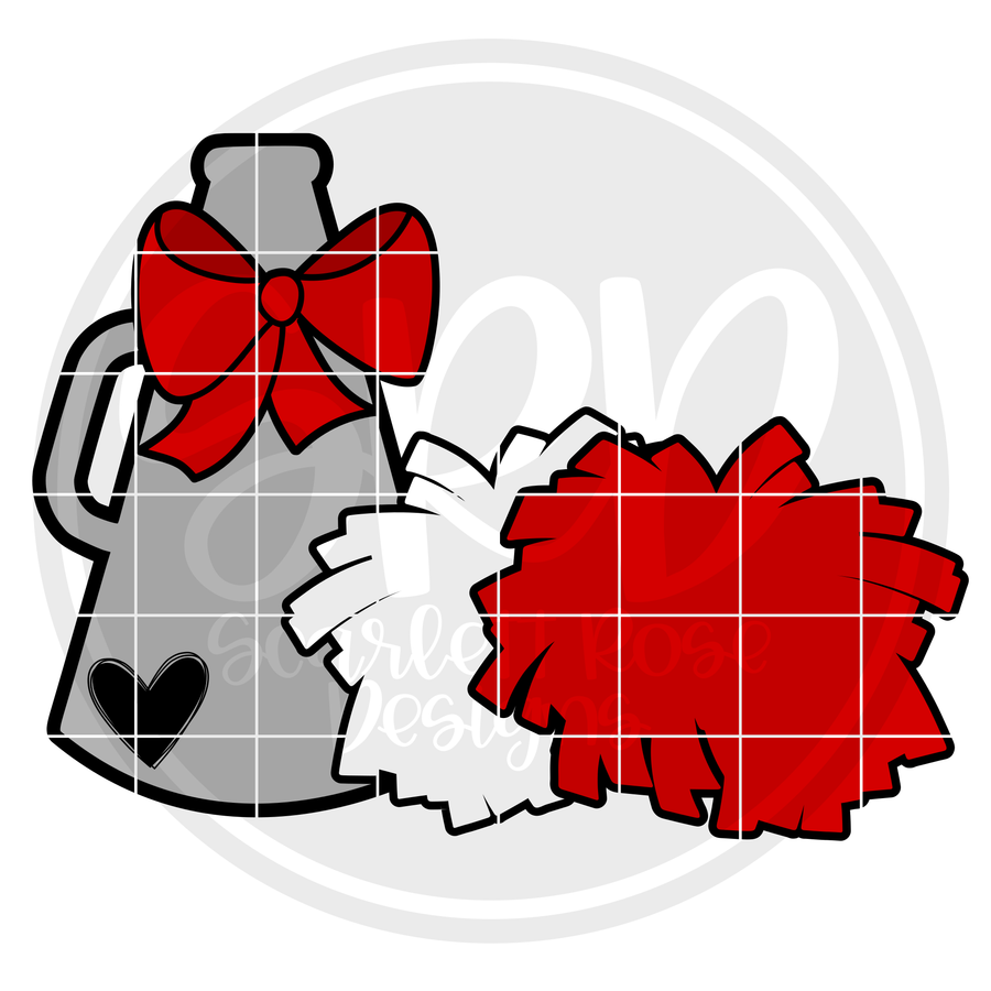 Cheerleading Gear SVG