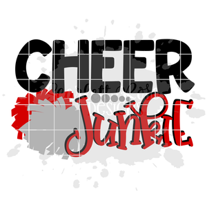 Cheer Junkie - Cheer SVG