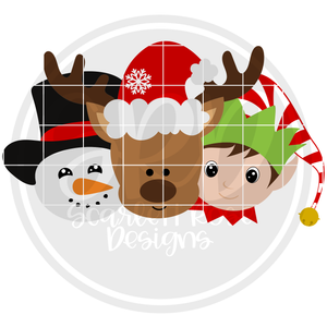Christmas Friends - Boys 2019 SVG
