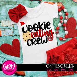 Cookie Eating Crew - Christmas SVG