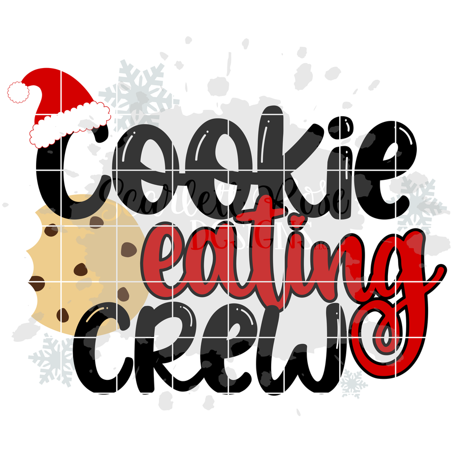 Cookie Baking - Eating Crew SET - Christmas SVG