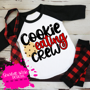 Cookie Eating Crew SVG