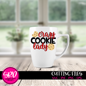 Crazy Cookie Lady SVG