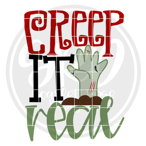 Creep it Real SVG - Color