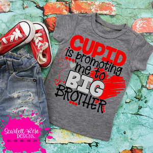 Cupid is Promoting Me to Big Brother SVG