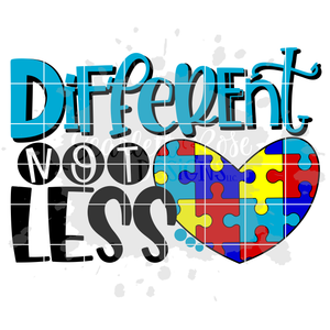Different Not Less SVG