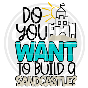 Do You Want To Build a Sandcastle 2 - Color SVG