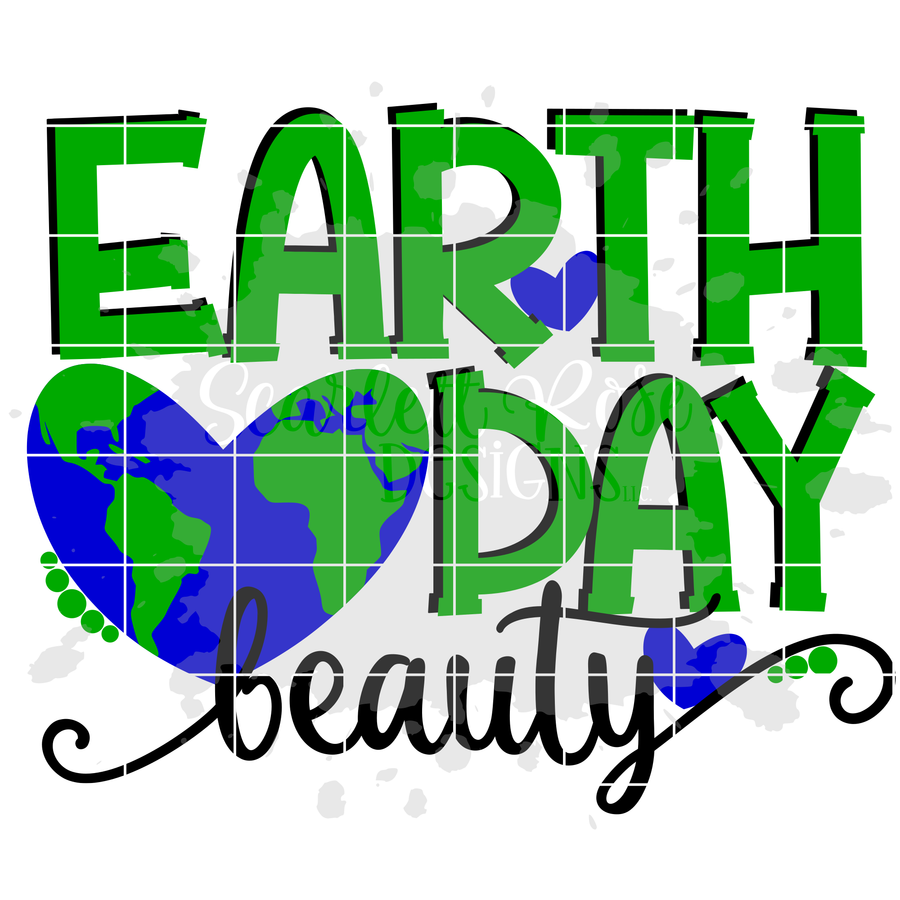 Earth Day Beauty SVG
