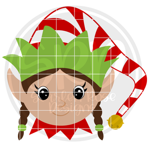 Elf Girl 2019 SVG