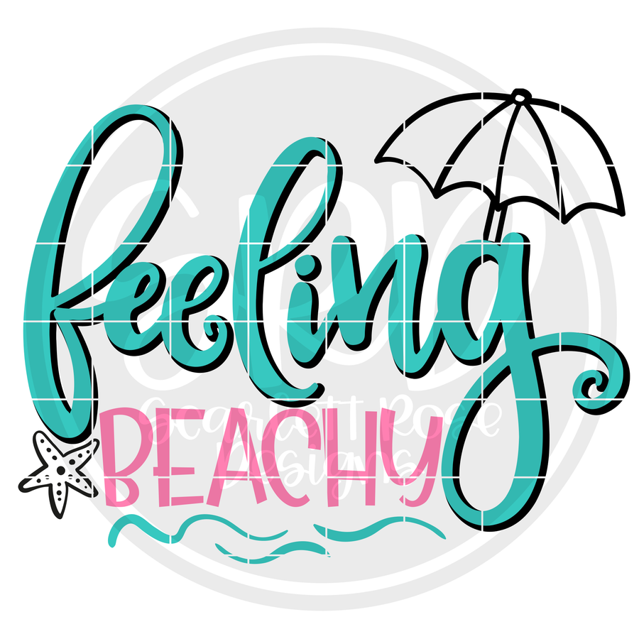 Feeling Beachy SVG - Color
