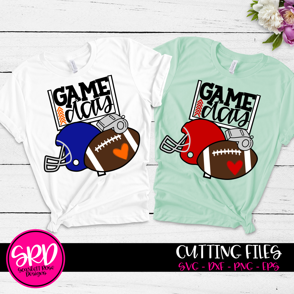 Football Gear - Game Day SVG