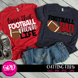Football Dad - Mom SVG SET