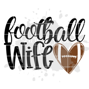 Football Wife SVG