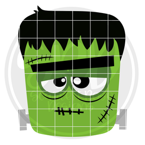 Frankenstein - Boy SVG