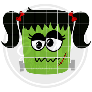 Frankenstein - Girl SVG