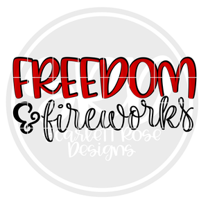 Freedom & Fireworks SVG
