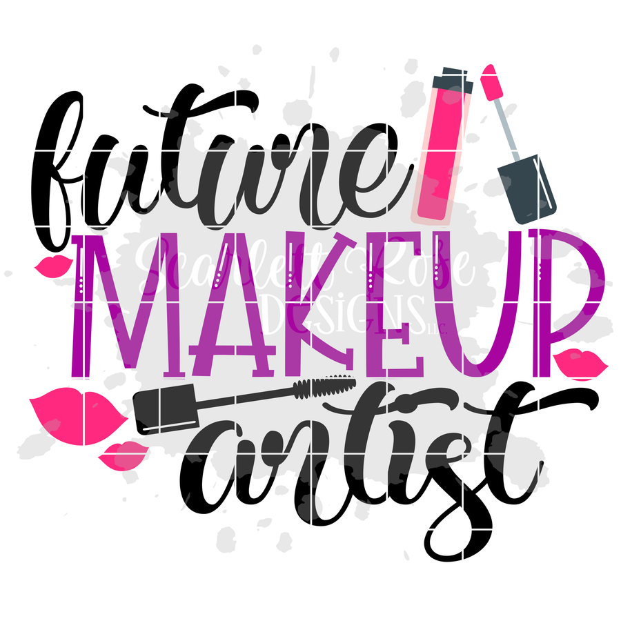 Future Makeup Artist SVG