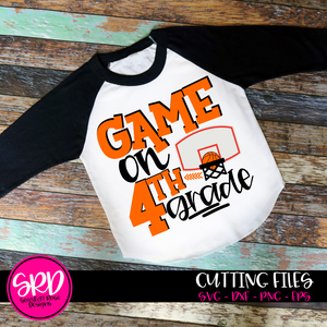 Game On School SVG - Basketball