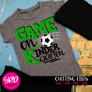 Game On Kindergarten SVG - Soccer