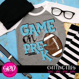 Game On Pre-K SVG - Football