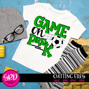 Game On School SVG - Soccer
