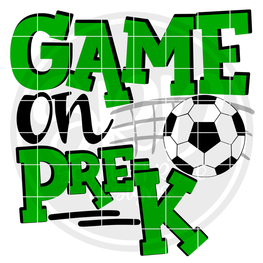 Game On Pre-K SVG - Soccer