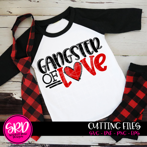 Gangster of Love SVG
