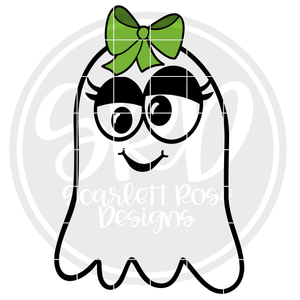 Ghost - Girl SVG