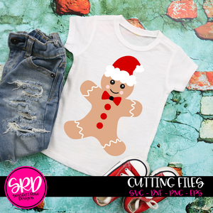 Gingerbread Man - Color SVG
