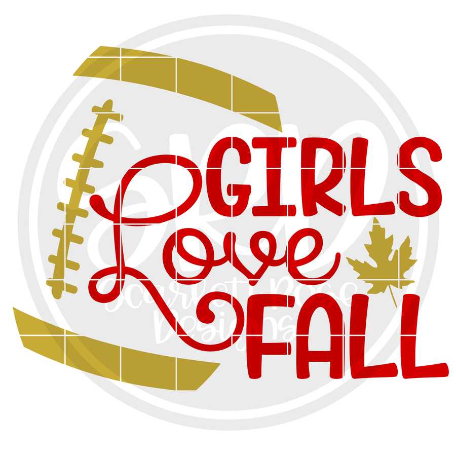 Girls Love Fall SVG
