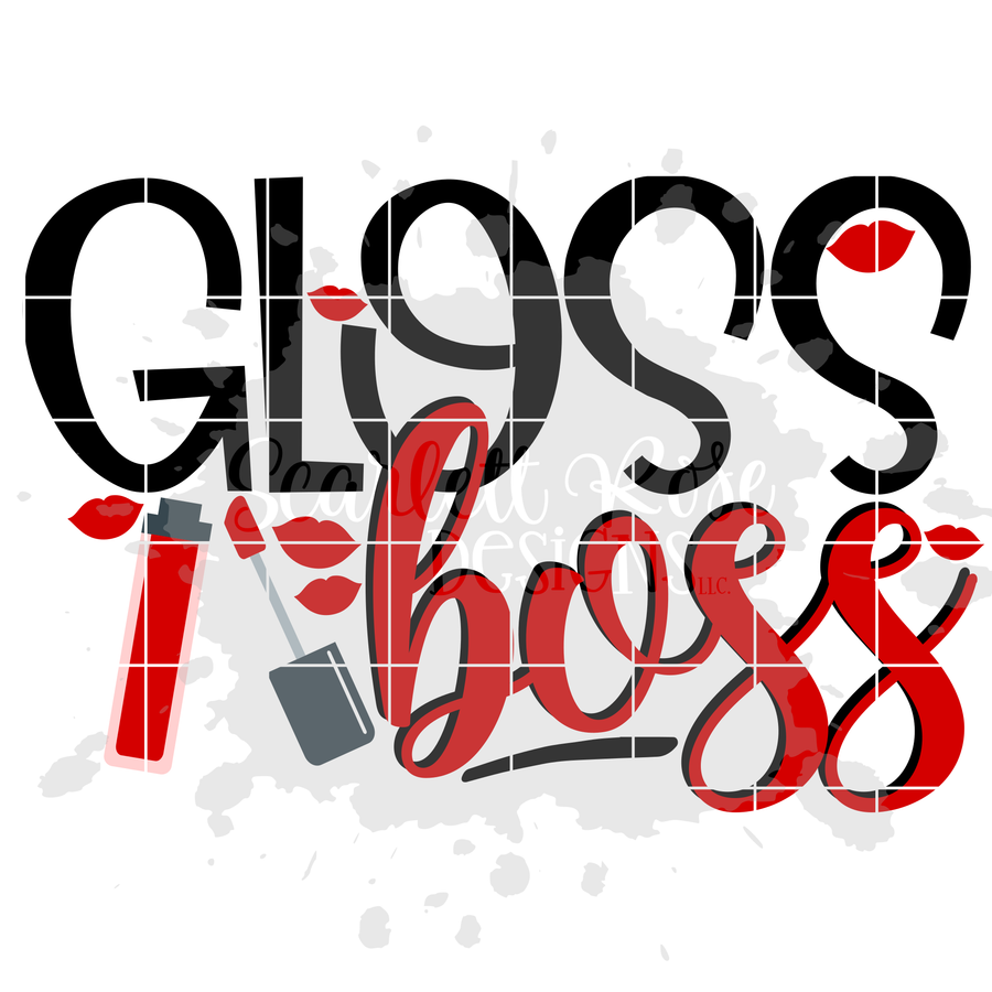 Gloss Boss SVG