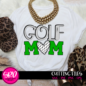 Golf Mom SVG