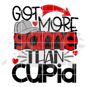 Got More Game than Cupid SVG