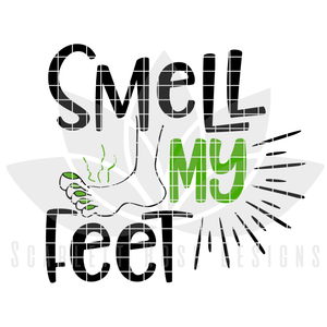Halloween SVG, Trick or Treat, Smell My Feet, Mommy and Me, Matching Set cut file