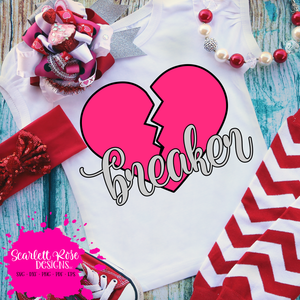Heart Breaker - (Girl) SVG