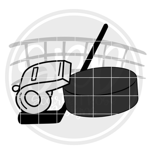 Hockey Gear SVG