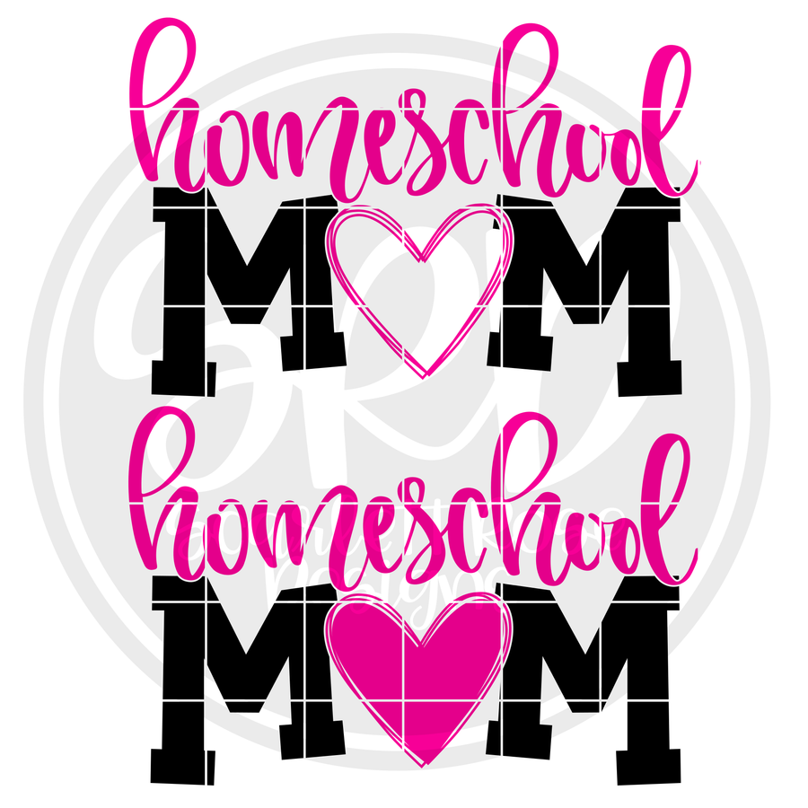 Homeschool Mom SVG