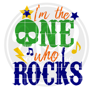 I'm the One who Rocks SVG