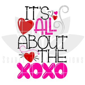 It's All About the XOXO SVG