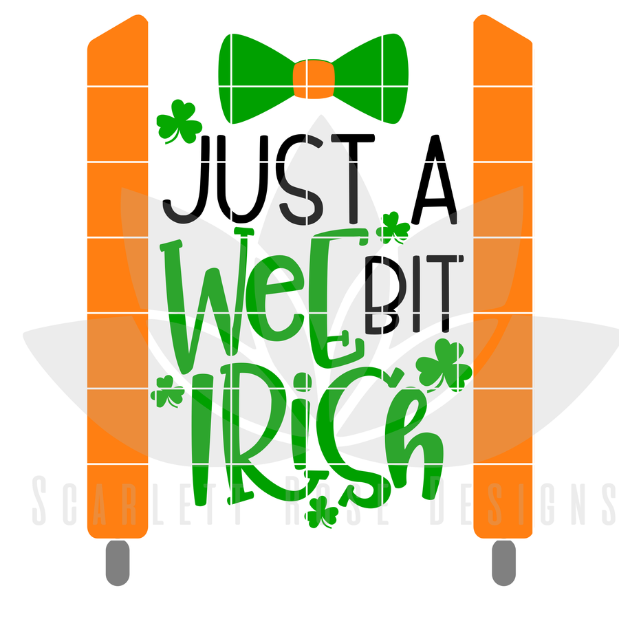Just a Wee Bit Irish SVG