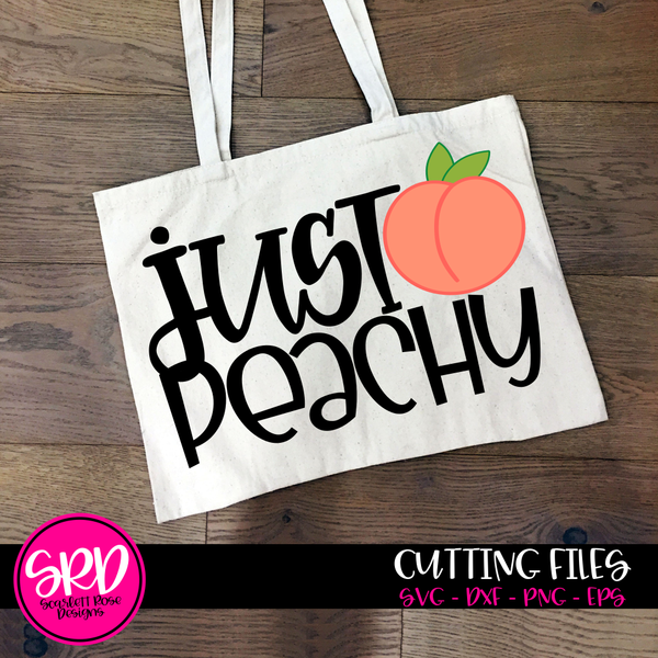 Southern Svg, Just Peachy SVG