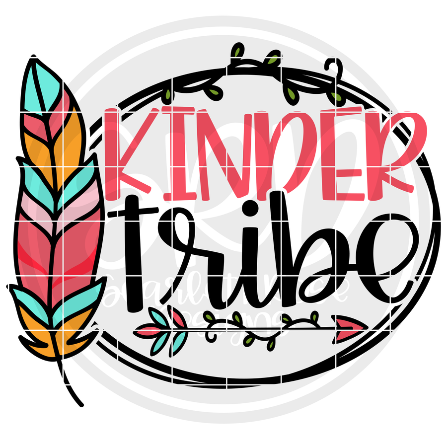 Kinder Tribe SVG