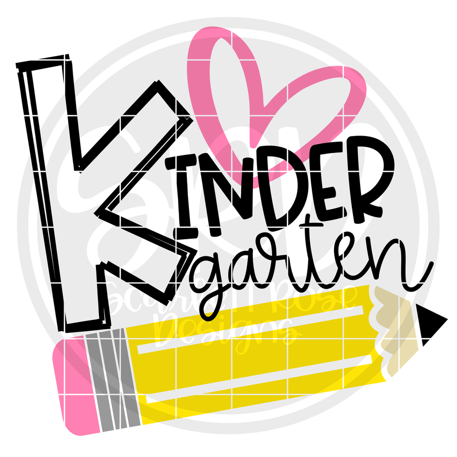 Kindergarten SVG - Pencil
