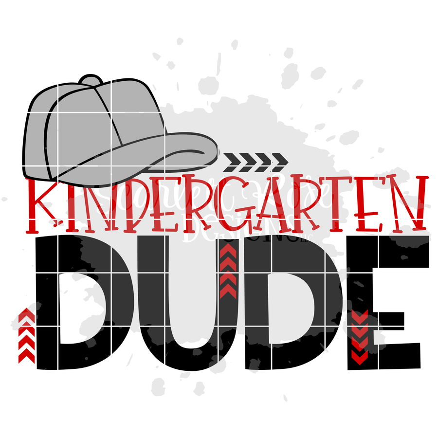 Kindergarten Dude SVG