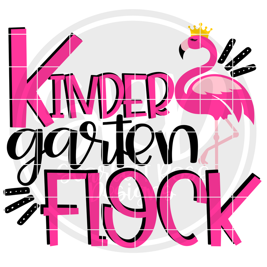 Kindergarten Flock SVG