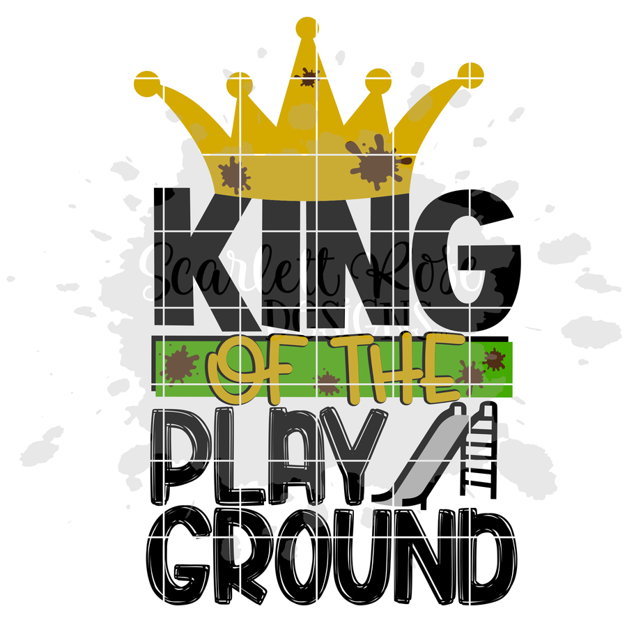 King of the Playground SVG