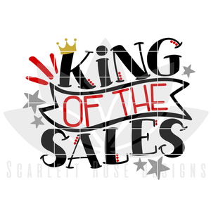 King of the Sales, SVG cut file