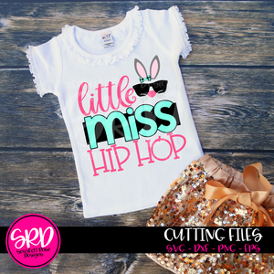 Little Miss Hip Hop SVG