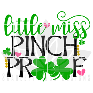 Little Miss Pinch Proof SVG